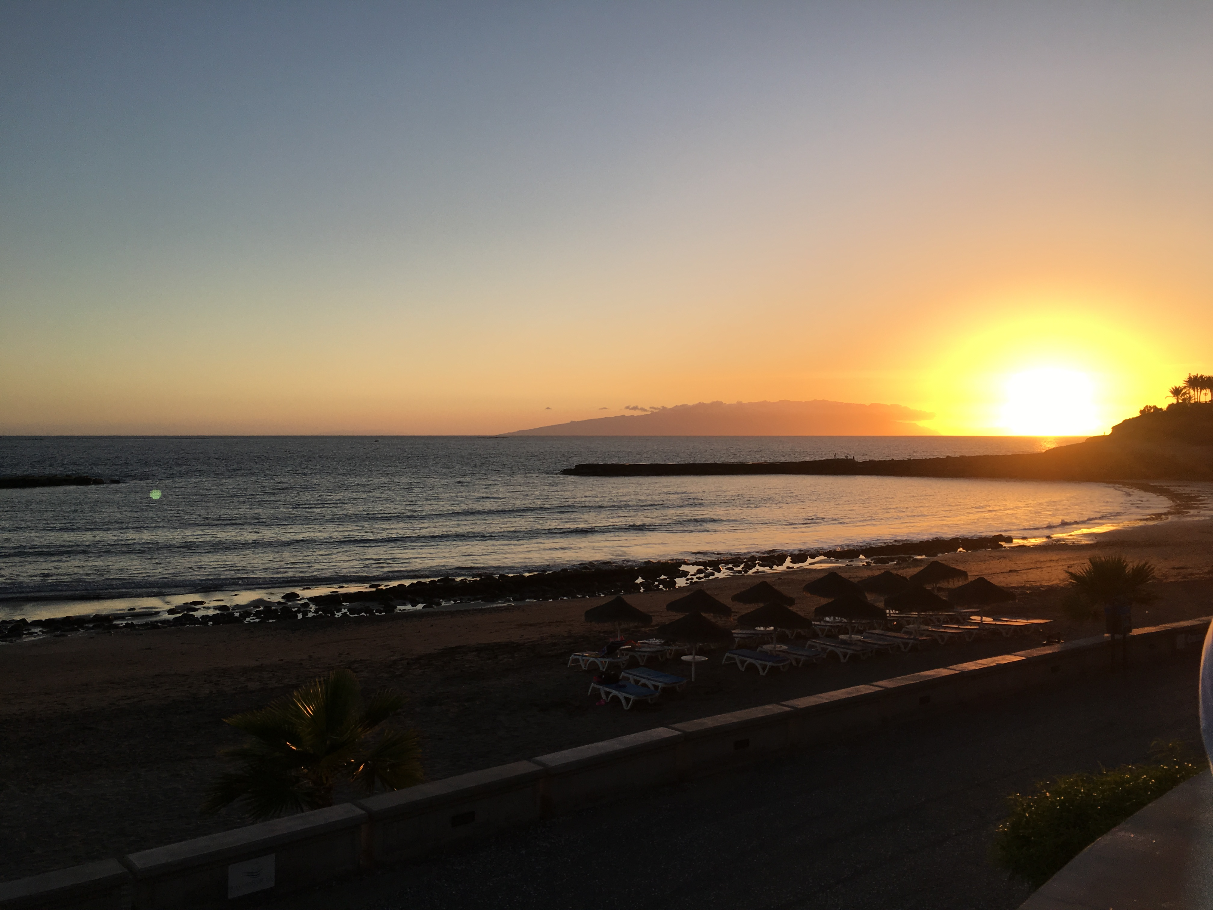 Perspectives From a Black Sand Beach in Tenerife