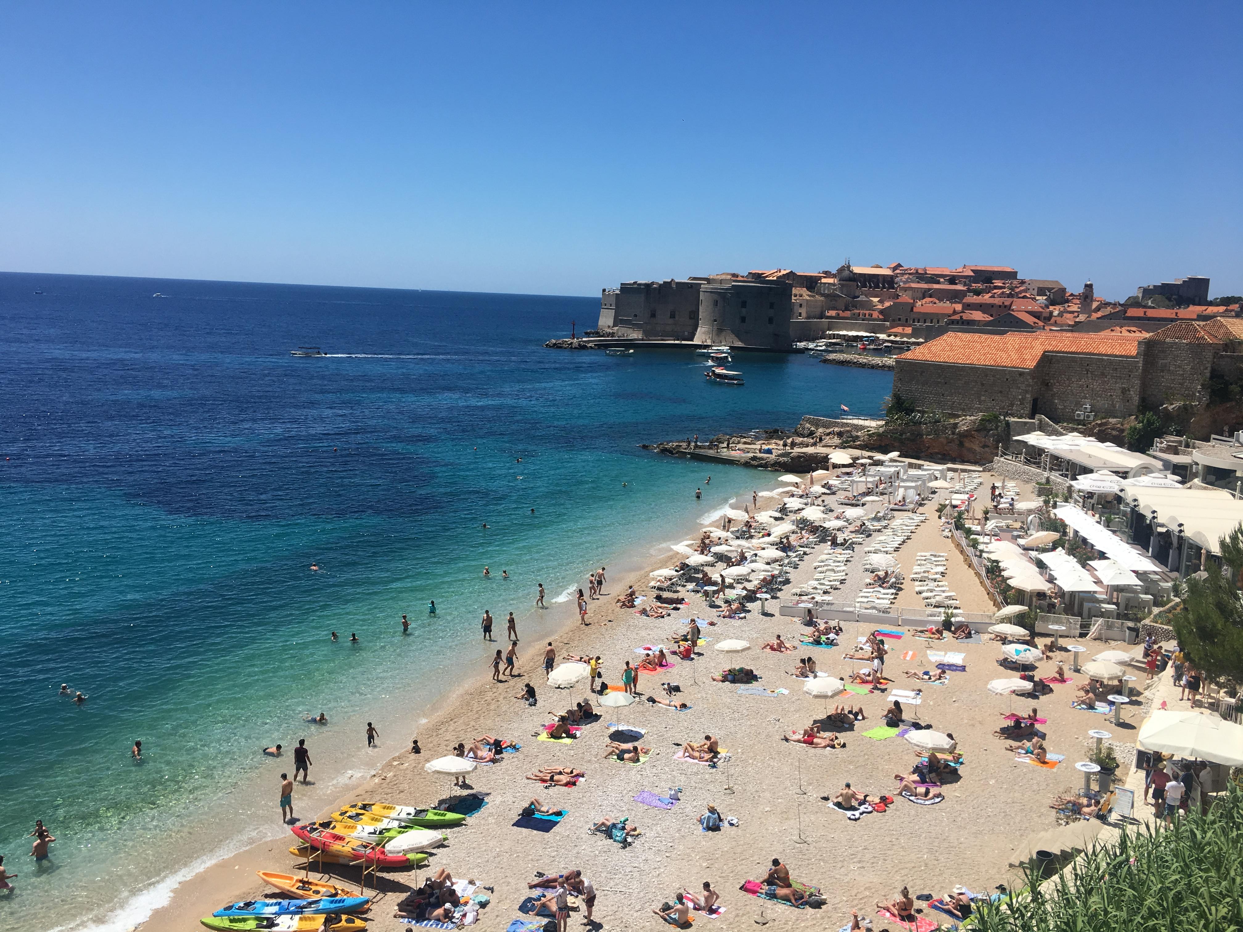 banja-beach-dubrovnik-croatia